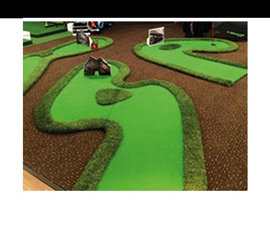 Crazy Golf Greens