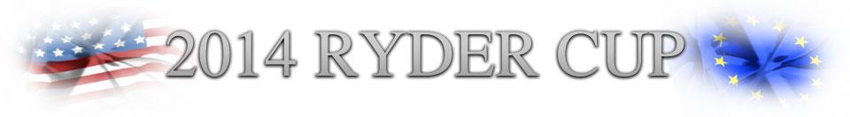 Ryder Cup 2014 header