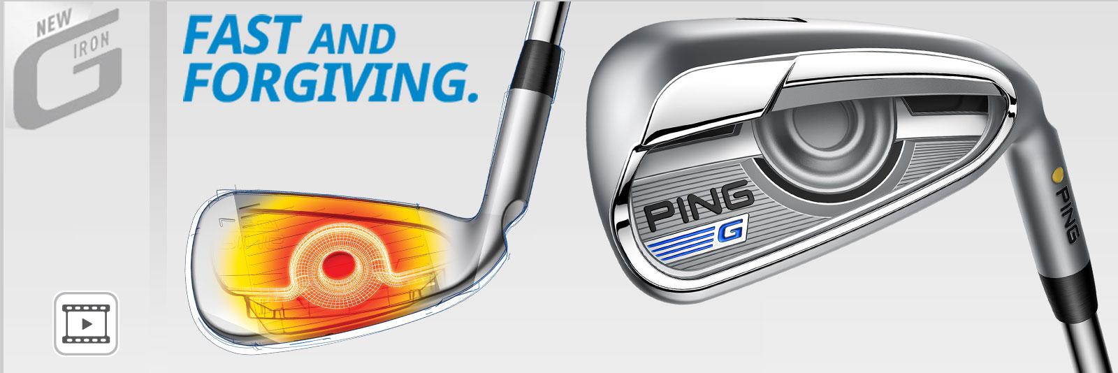 PING G Series Irons Header