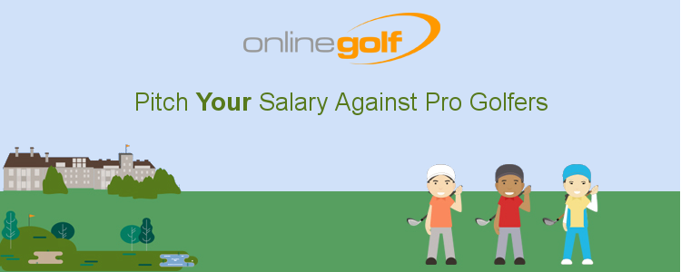 Pitch Your Salary against the Pro Golfers