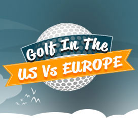 Golf in the US VS Europe