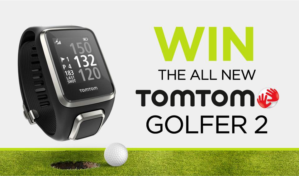 Win a TomTom Golfer 2 Watch