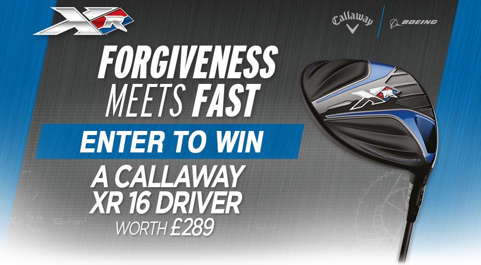 win a Callaway XR Driver
