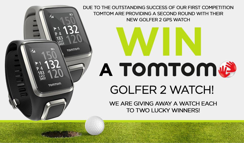 Win 2 TomTom Golfer 2 Watches