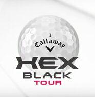 The new Callaway HEX Black Tour Golf Ball- Video