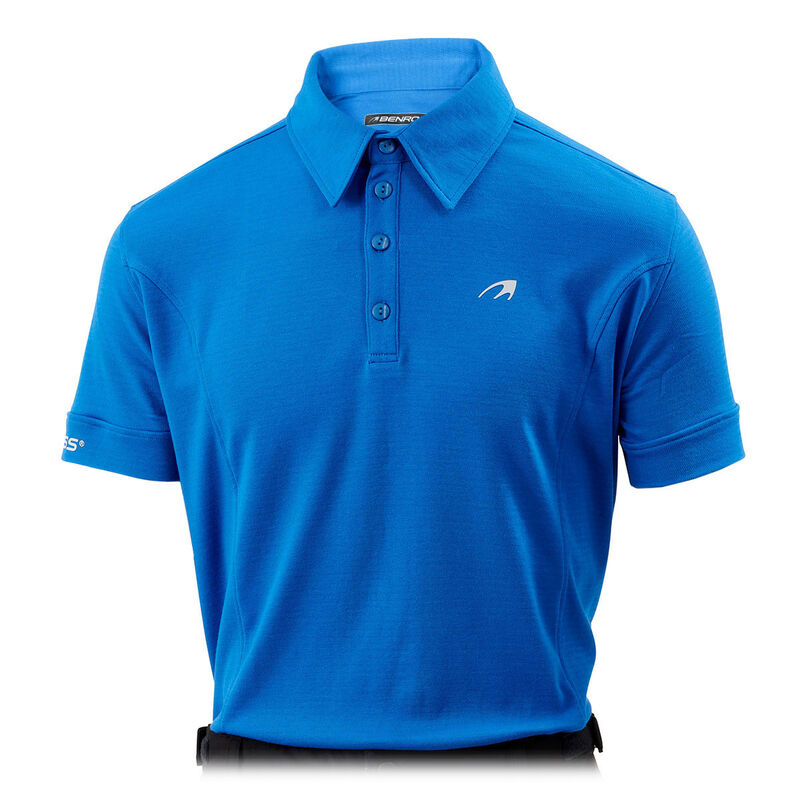 Benross Pro Shell X Polo Shirt Male Blue Small