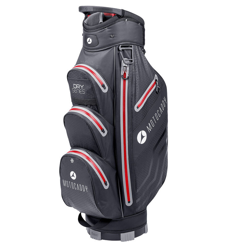 Motocaddy Dry Series Cart Bag 2018 Male Black Red