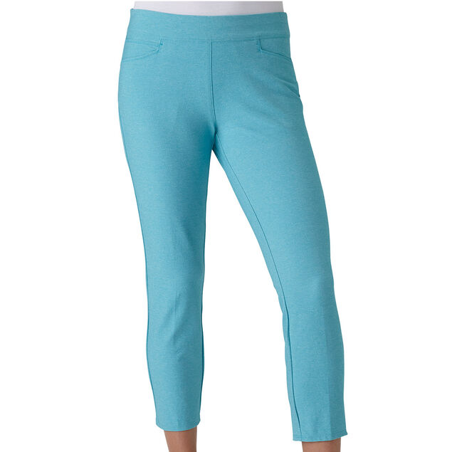27f311ce2 adidas Golf Ladies adiStar Heathered Crop Trouser | Online Golf