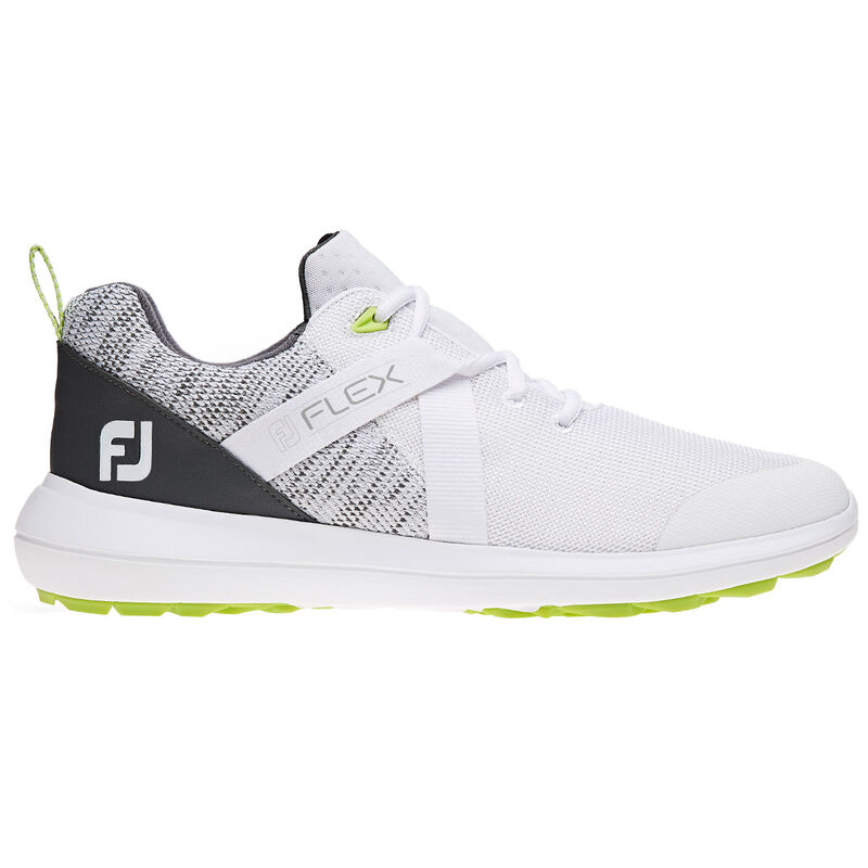FootJoy Flex Shoes Male WhiteGrey 11 Regular