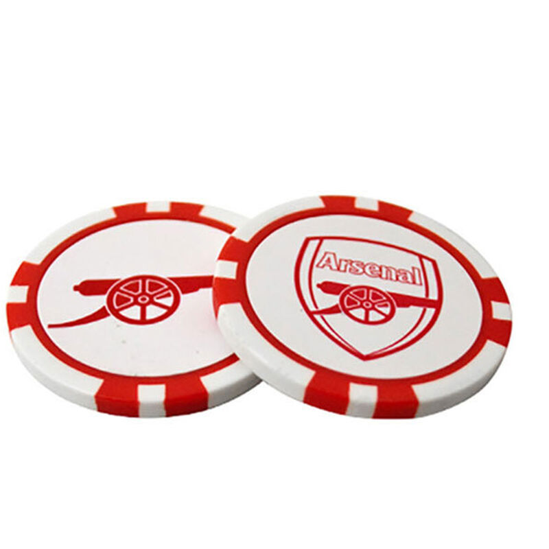 Premier Licensing Arsenal Poker Chip Ball Marker Set Male ARSENAL