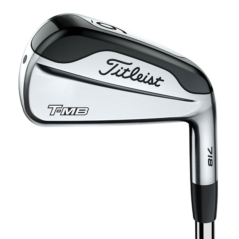 Titleist 718 T MB Steel Irons Male 4 PW 7 Irons Right Hand Steel Stiff