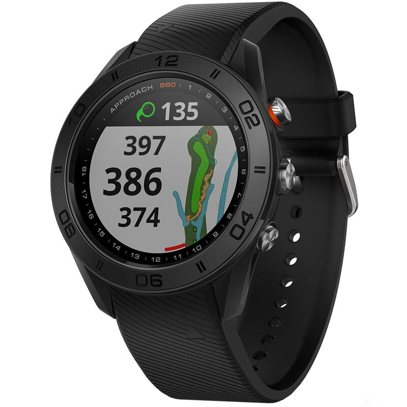 Garmin Approach S60 GPS Watch Male Black