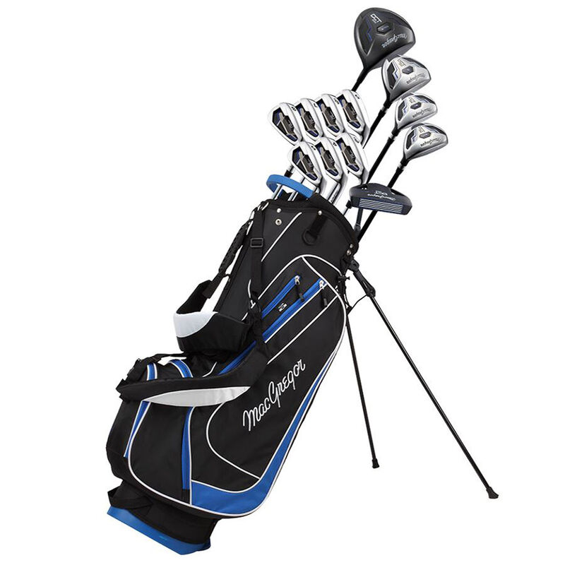 MacGregor DCT2000 Stand Bag Steel Package Set Male Right Hand Stand Bag BlackBlue