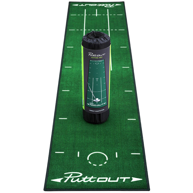 PuttOUT Deluxe Putting Mat Male Green