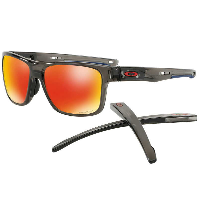 Oakley Crossrange Sunglasses Male GreyRed