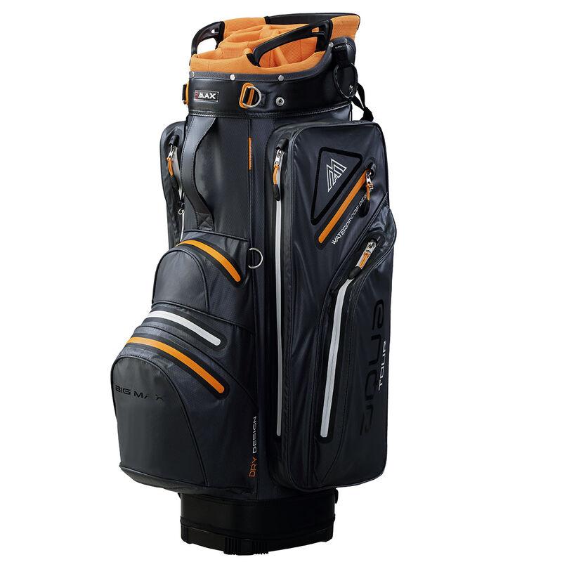 BIG MAX Aqua Tour 2 Cart Bag Male CharcoalOrangeBlack