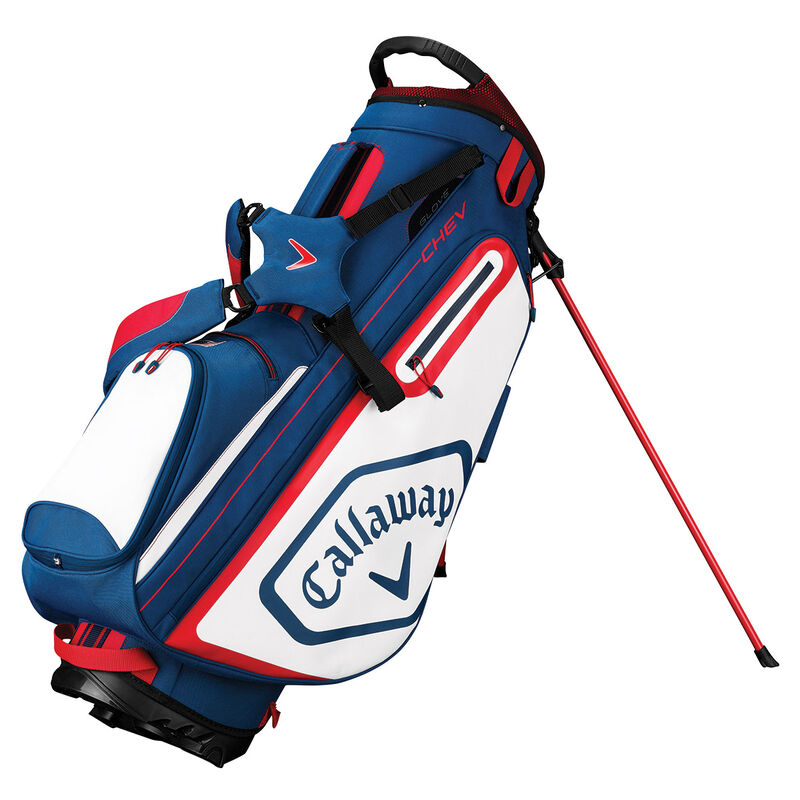 Callaway Golf Chev Stand Bag 2019 Male NavyWhiteRed