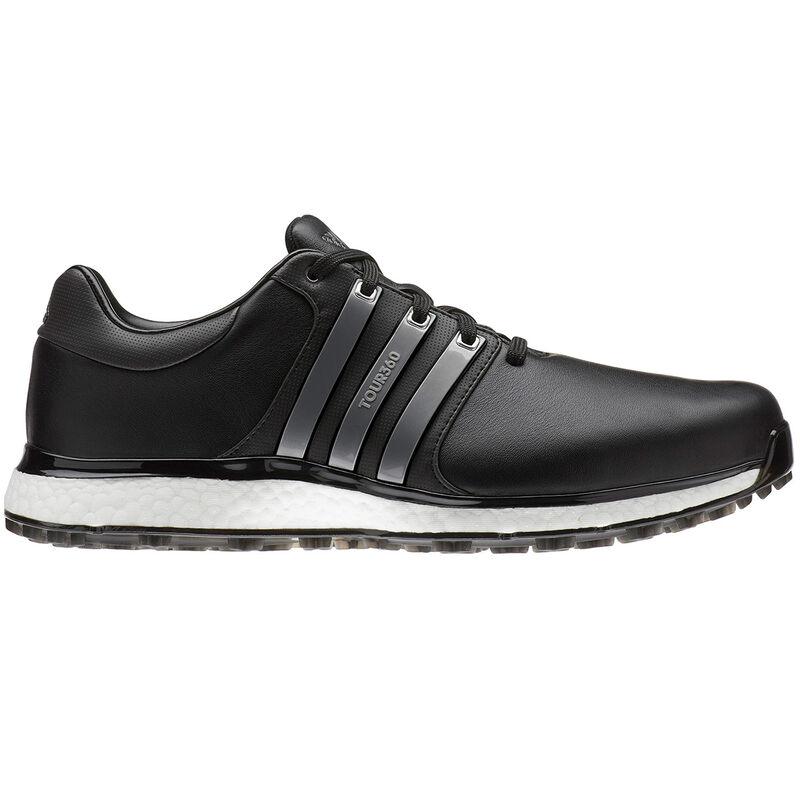 adidas Golf Tour 360 XT SL Shoe Male Core BlackIron MetSilver Met 7 Wide