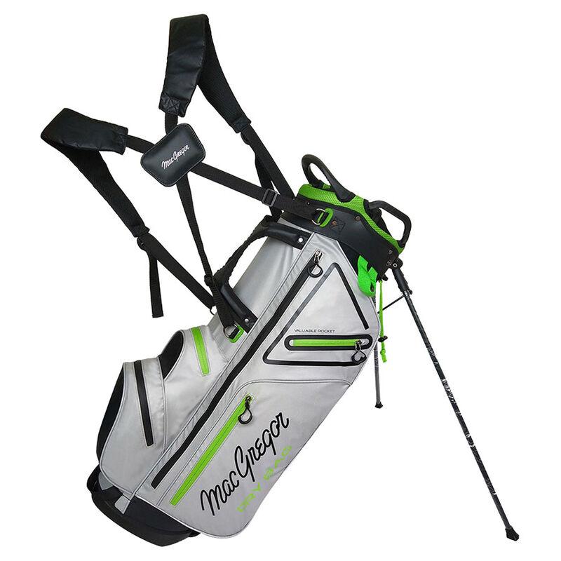 MacGregor MACTEC Water-Repellent Golf Stand Bag, Silver
