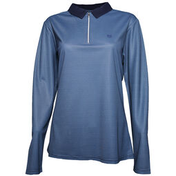 7f9f4503c03f Palm Grove Ladies Long Sleeve Polo Shirt