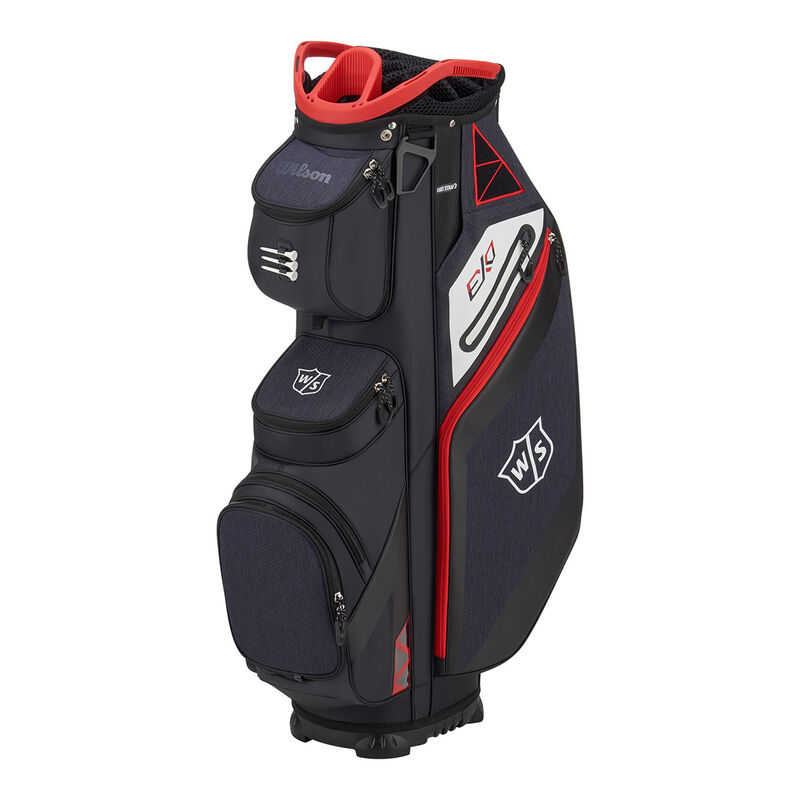 Wilson Staff EXO Cart Bag Male BlackBlackRed