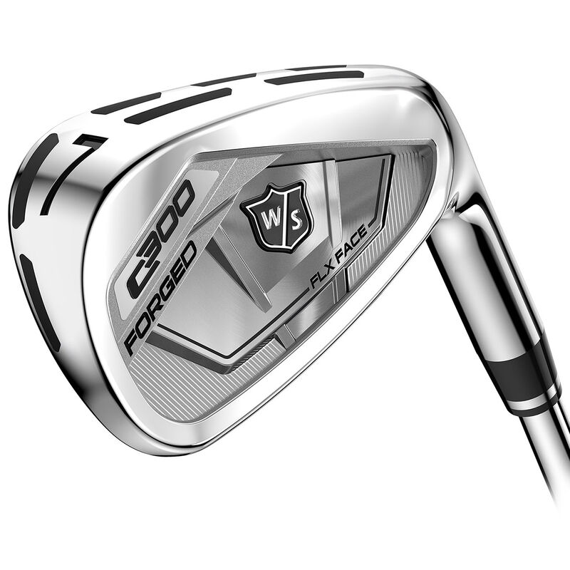 Wilson Staff C300 Forged Steel Irons Male 4 PW 7 Irons Right Hand Steel Stiff