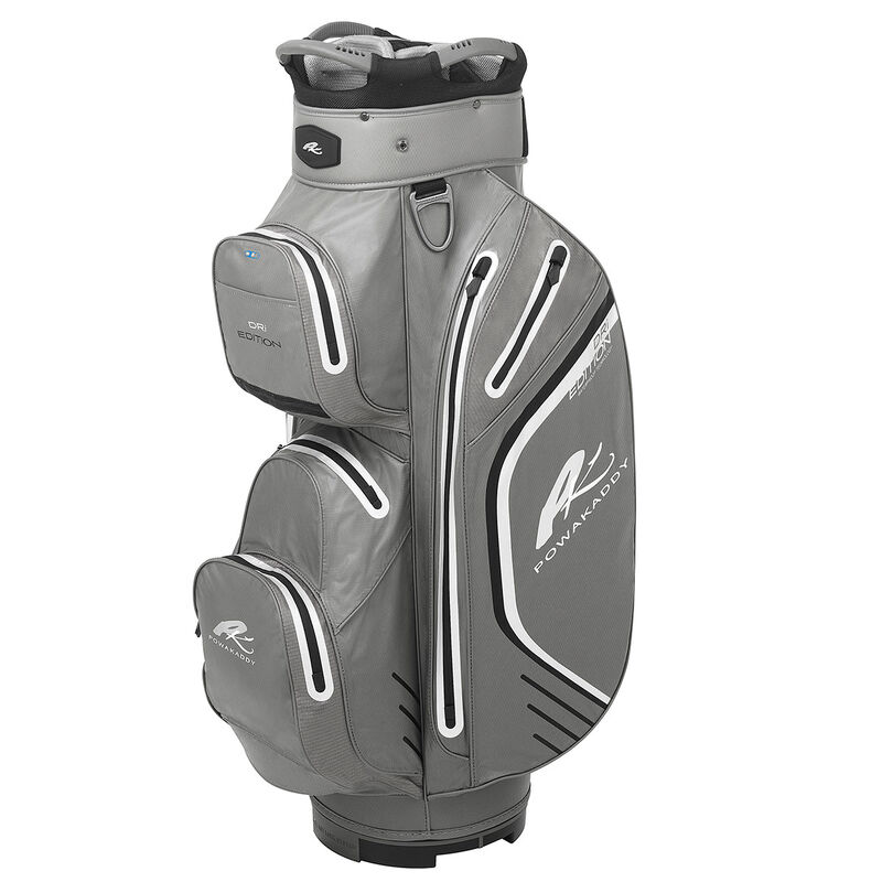 PowaKaddy Dri Edition Cart Bag Male Gunmetal Black Silver