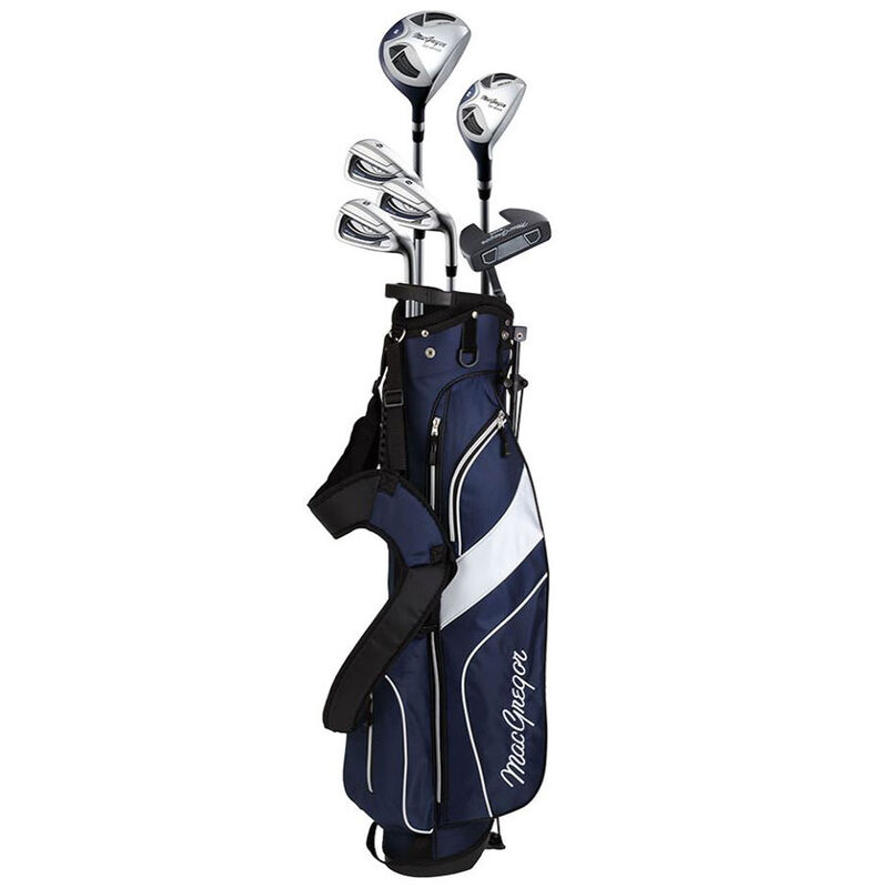 MacGregor CG2000 Ladies Golf Stand Bag Steel Half Package Set, Female, Right Hand, Golf Stand Bag, Black/Blue