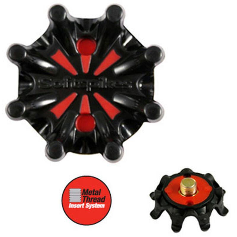 Softspikes Pulsar Spikes Male Black Fast Twist