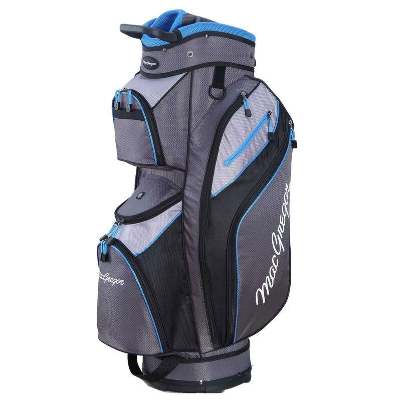 MacGregor MACTEC Golf Cart Bag, Grey/Silver/Blue