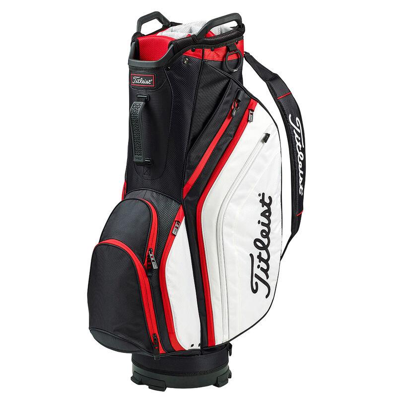Titleist Lightweight Cart Bag Male BlackWhiteRed