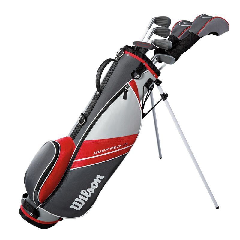Wilson Deep Red Junior Package Golf Set