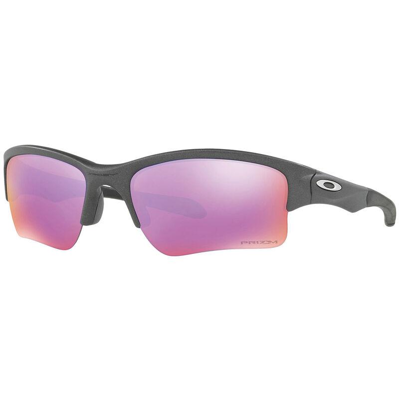 Oakley Quarter Jacket Prizm Junior Sunglasses Unisex Steel Prizm One Size