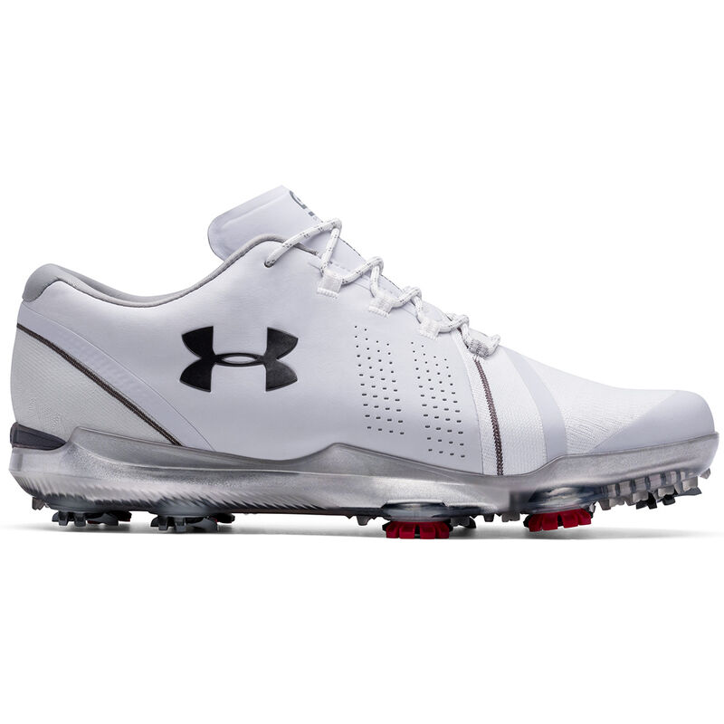 Under Armour Spieth 3 Shoes Male WhiteOvercastMet Gun Metal 10 Wide