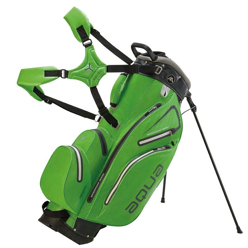 BIG MAX Aqua Hybrid Stand Bag Male LimeBlackSilver