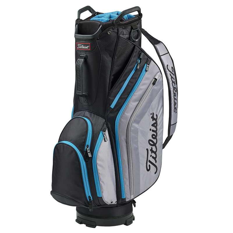 Titleist Lightweight Cart Bag Male BlackSleetBlue