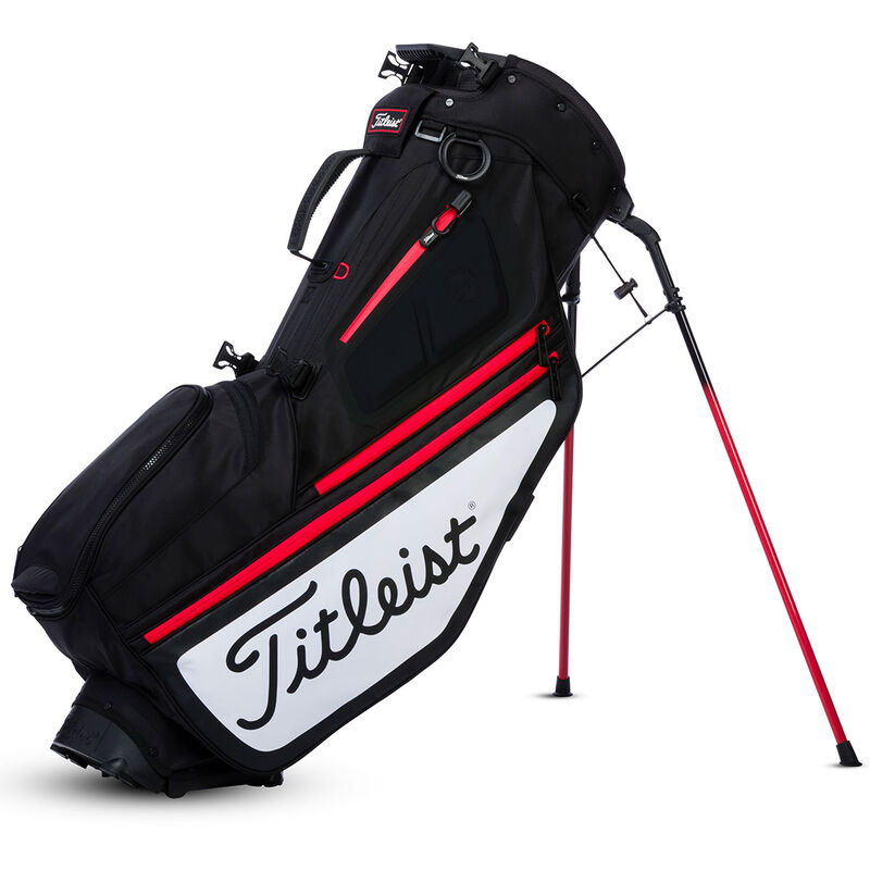 Titleist Hybrid 5 Stand Bag Male BlackRedWhite