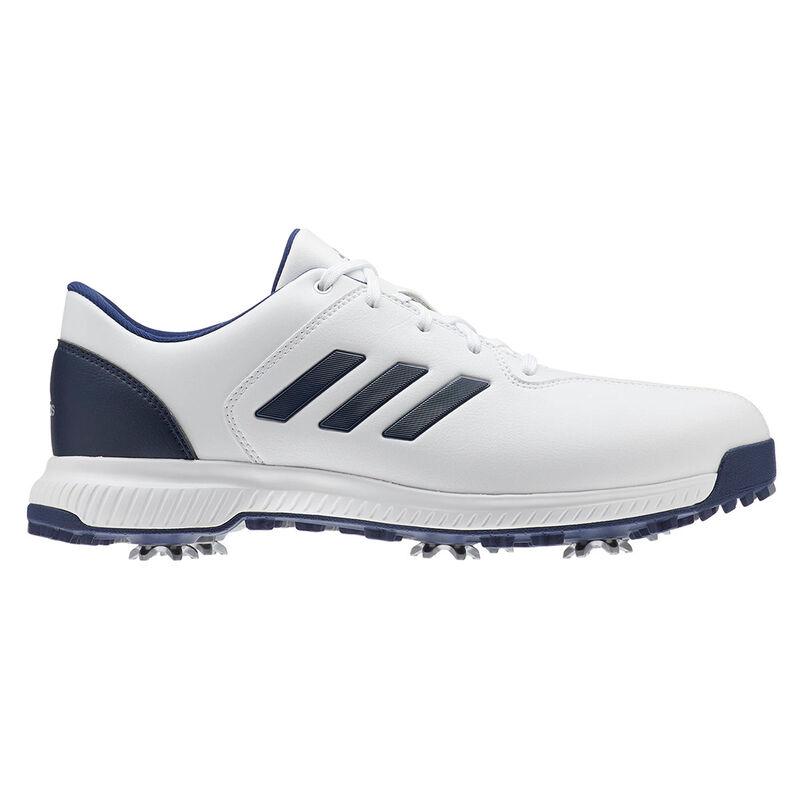 adidas Golf CP Traxion Shoes Male WhiteDark BlueSilver Met 9 Regular