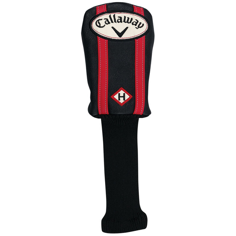 Callaway Golf Vintage Hybrid Head Cover Male BlackRed