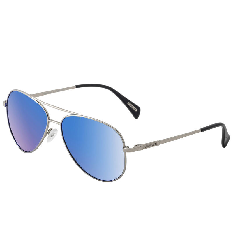 Dirty Dog Maverick Polarised Sunglasses Male SilverBlue