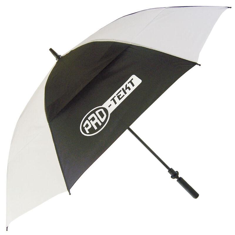 Pro-Tekt Auto-Open Umbrella, Male, White/Black
