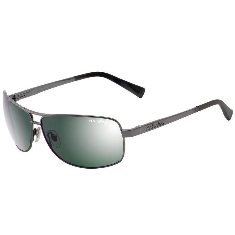 Dirty Dog Steed Mirror Polarised Sunglasses Male GunmetalGreen