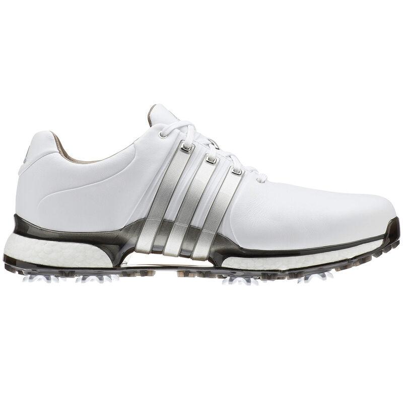 adidas Golf Tour 360 XT Shoe Male WhiteSilver MetDark Silver 8 Wide