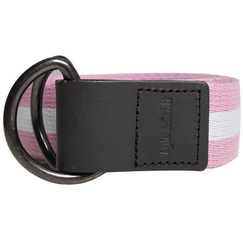 Lyle and Scott Golf Belts
