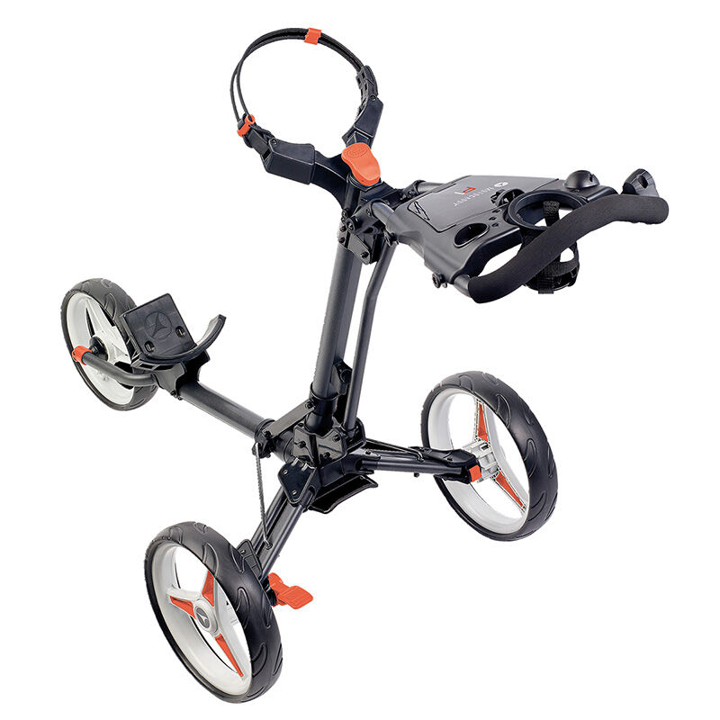 Motocaddy P1 Push Trolley Male Graphite Red