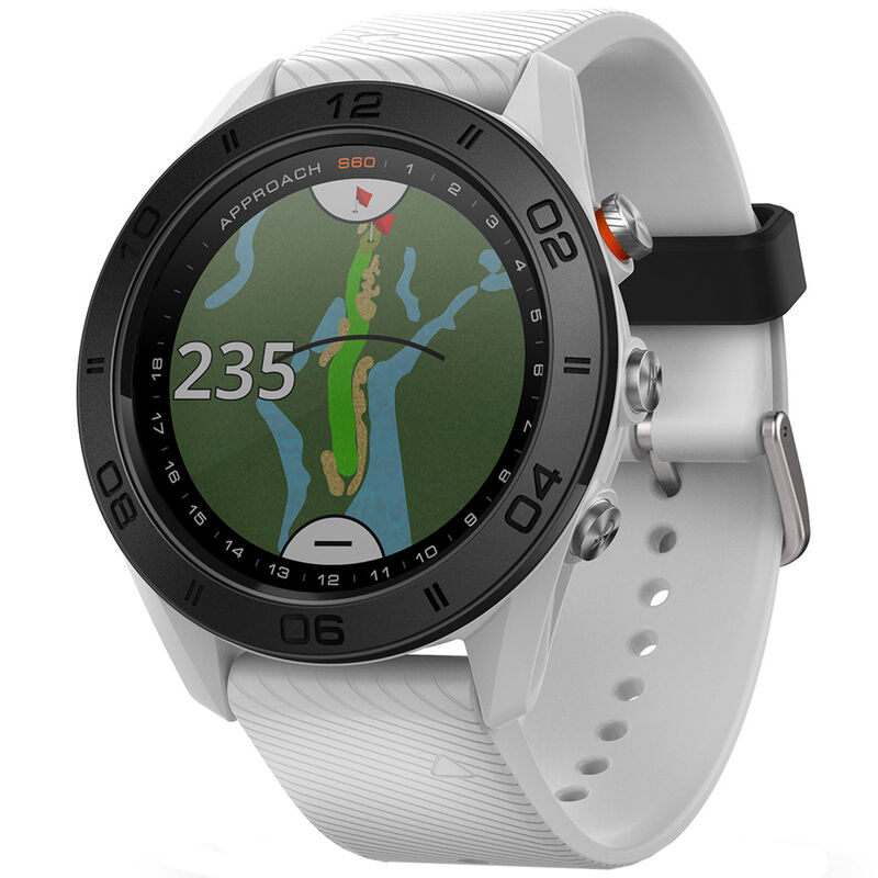 Garmin Approach S60 GPS Watch Male White