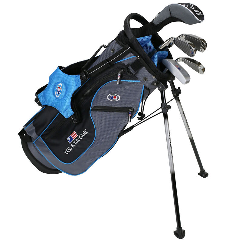 US Kids Blue Starter Golf Set 5 7 Years