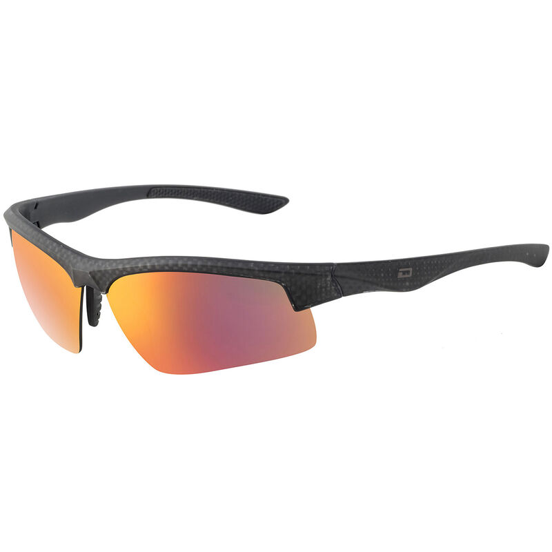 Dirty Dog Sport Hub Polarised Sunglasses Male CarbonGreyRed