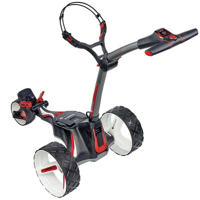 Motocaddy M1 DHC Standard Range Lithium Electric Trolley Male Graphite