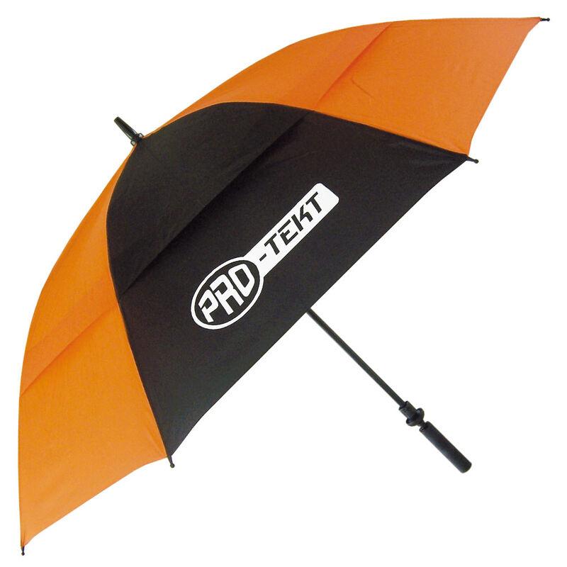 Pro-Tekt Auto-Open Umbrella, Male, Black/Orange